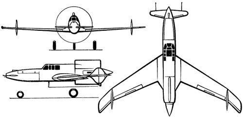 Летательный аппарат схемы утка